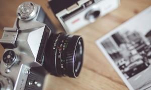Cameras on desk